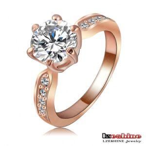 Zircon Womens Fashion Jewellery Ring (Ri-HQ1053)