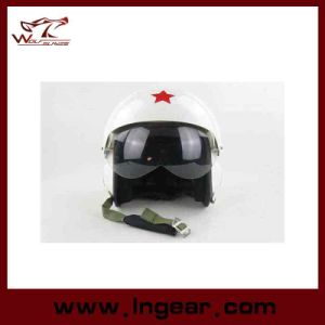 Motorcycle Helmet of Pilot Helmet with Tactical Flight Helmet pictures & photos