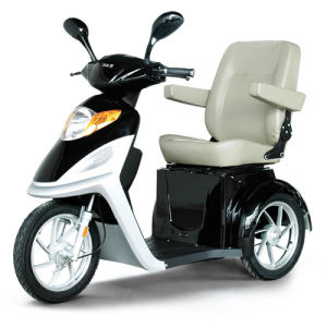 3 Wheel Disabled Scooter with 500W Brushless Motor pictures & photos