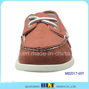 New Fashion Leather Boat Shoes pictures & photos
