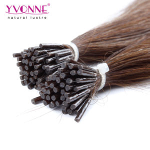 Color #4 Brazilian Remy Human I Tip Hair Extensions pictures & photos