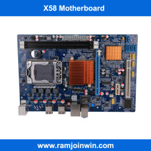 DDR3 X58 Desktop Motherboard for Server pictures & photos
