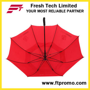 30*8k Auto Open Golf Umbrella with Your Logo pictures & photos