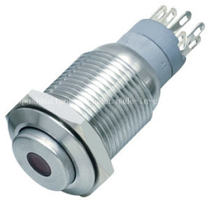 High Head DOT LED 16-C4 Momentary Switch Push Button pictures & photos