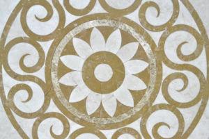 Polished Marble Waterjet Floor Tile