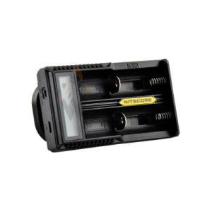 Nitecore 18650 Battery Charger USB LCD Charger Nitecore Um20 with LCD Screen 2 Slots 18650 Battery Charger pictures & photos