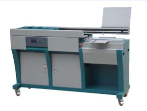 60H-A3 Befitter Hangzhou A3 Perfect Glue Book Binding Machine with Side Glue pictures & photos