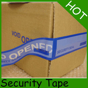 Pet Material Custom Blue Security Tape pictures & photos