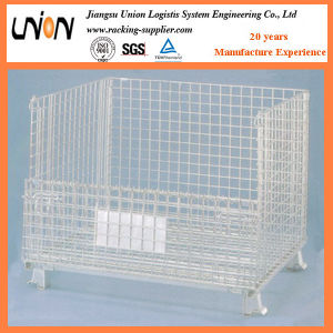 Collapsible Wire Container Wire Cage pictures & photos