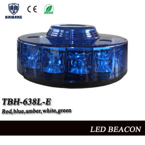 New Design Blue Flashing Beacon Light with Blue SMD LEDs in Blue Cover (TBH-638L-E) pictures & photos