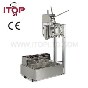 Spanish Churros Making Machine with Fryer for Sale (ITCM-12) pictures & photos