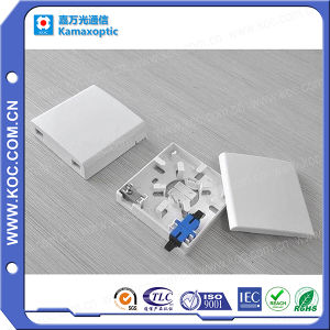 High Quality 2 Fibers Fiber Optic Terminal Box pictures & photos