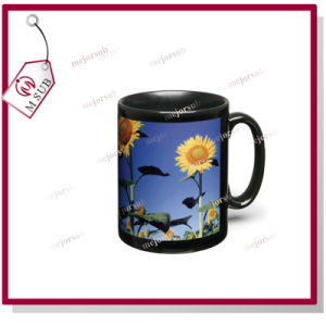 11oz Ceramic Mugs with Patch for Sublimation by Mejorsub pictures & photos