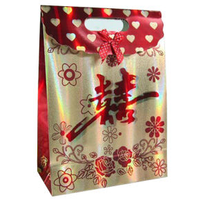 High Quality Paper Shopping Gift Bag with Handle pictures & photos