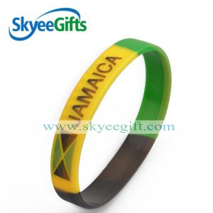 1/2 Inch Silicone Wristband with SGS for Promotion pictures & photos