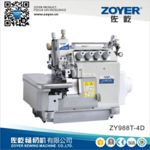 Zoyer Pegasus Ext Direct Drive Overlock Industrial Sewing Machine (ZY988T-4D) pictures & photos