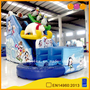 Inflatable Polar Bear Water Slide for Sale (aq01390-1) pictures & photos