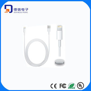 Simple Style Round USB Cable for iPhone (LCCB-037) pictures & photos