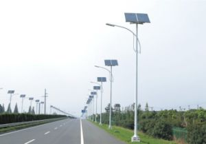 100W LED Solar Street Light with Light Control
