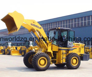 Construction Wheel Loader, 3ton Loading Weight pictures & photos