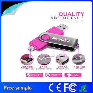 Wholesale Bulk USB 2.0 Swivel OTG USB Flash Disk pictures & photos