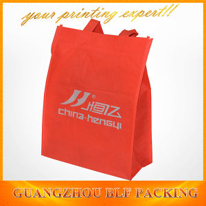 Custom Red Non Woven Promotional Handbags Bags Shopping (BLF-NW184) pictures & photos