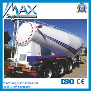 3 Axle 50cbm Bulk Cement Semi Trailer for Sale pictures & photos