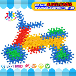 Building Blocks Toys Intellectual Toys, Colorful Plastic Desk Blocks Toy pictures & photos