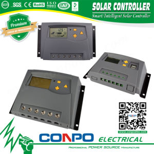 Sk-10A~80A, 12V/24V or 48V, LED/LCD, PWM Solar Controller pictures & photos