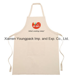 Personalized Printed Cotton Canvas Funny Kitchen Apron with Pockets pictures & photos