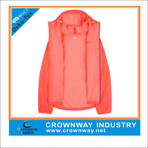 Mens Cheap White Windbreaker Jacket Used in Beach pictures & photos