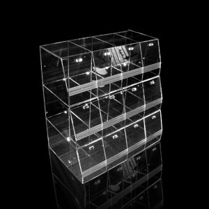 Hot Selling Acrylic Candy Box, Clear Lucite Display Case pictures & photos