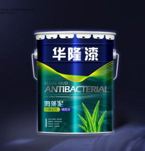 Hualong Algae Mud Absorb Formaldehyde Antibiosis Wall Paint (coating) pictures & photos