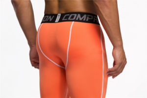Compression Trousers Gym Fitness Crossfit Sports Running Pants for Men (AK2015004) pictures & photos