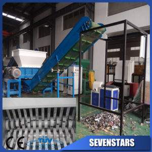 High Output Plastic/Wood/Paper Double Shaft Shredder pictures & photos