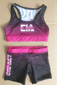Sublimation Bra and Shorts, Sublimation Uniforms pictures & photos