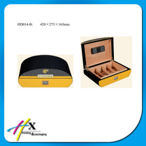 Guangzhou OEM Elegant Package Wooden Gift Cigar Box pictures & photos