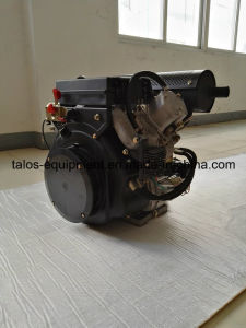 Air-Cooled 17 HP Twin Cylinder Diesel Engine (2V840) pictures & photos