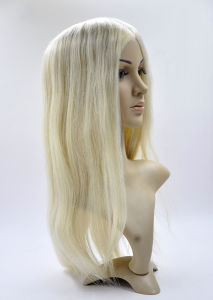 100% Human Hair with PU Cap Full Lace Wigs pictures & photos