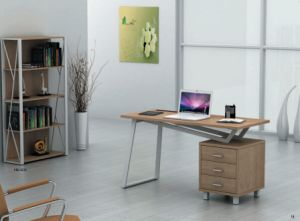 New Style Modern MDF Office Desk Office Table (CT-3533G) pictures & photos