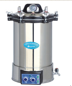 Portable Pressure Steam Sterilizer Yx-18ldj/Yx-24ldj pictures & photos