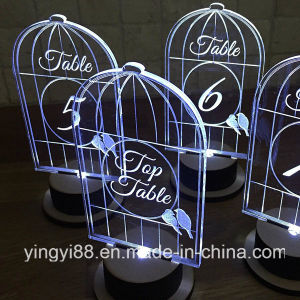 Top Quality Clear Acrylic Bird Cages for Decoration pictures & photos