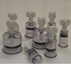 Twist-on Magnetic Suction Cupping - 8 Cups pictures & photos