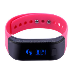 Newest Calorie Record Smart Bluetooth Bracelet with Custom Logo (4005) pictures & photos