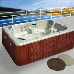 Made in China Insulated Rectangular Hot Tub pictures & photos