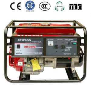 Villa 3kw Three Phase Gasoline Generator with CE (BH5000) pictures & photos