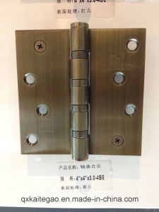 Stainless Steel Satin Finish Bearing Door Hinge (3044--4BB/2BB) pictures & photos