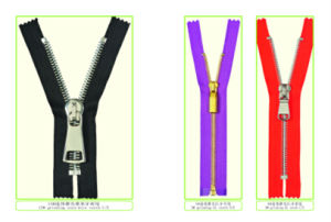 Metal Zipper for Y Teeth Type (5#copper brass)