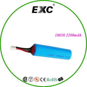 High Quality Lithium Ion 3.7V Rechargeable Battery 18650 2200 pictures & photos