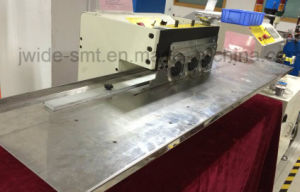 Thick Aluminum PCB V Cut Depanelizer for SMT Assembly Line pictures & photos